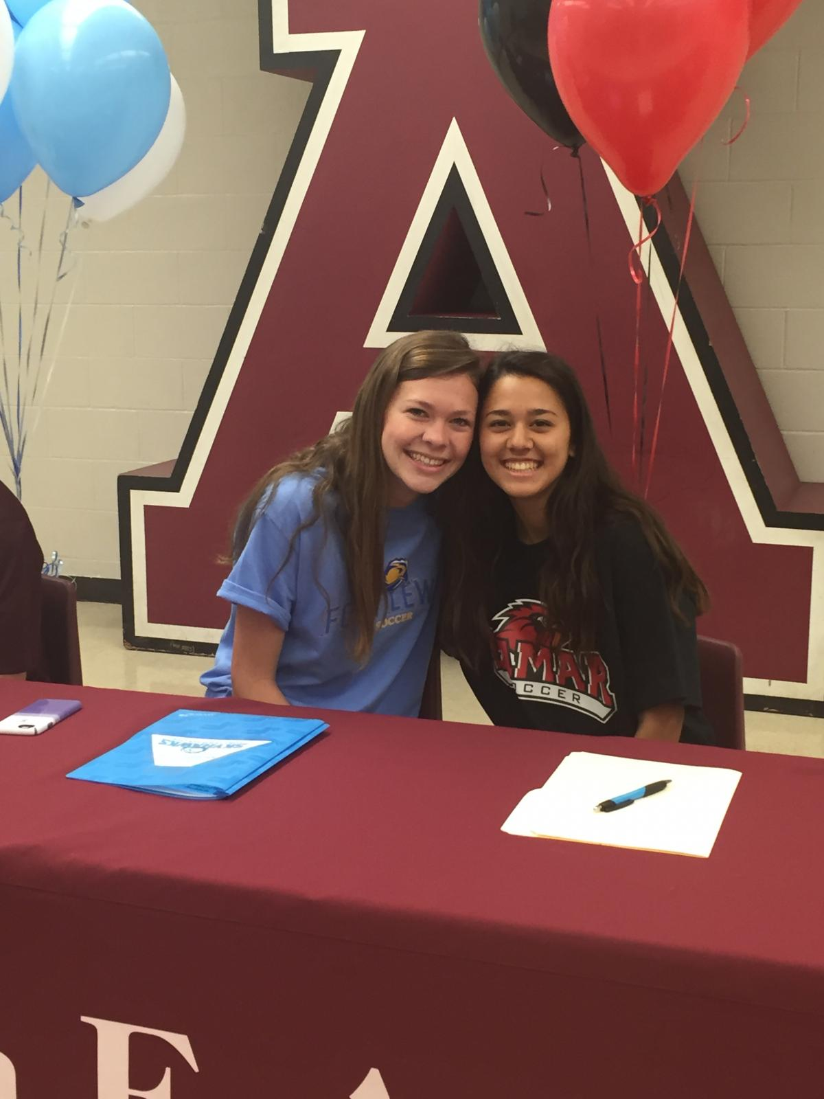 Curran and Stennfeld Sign to Play College Soccer