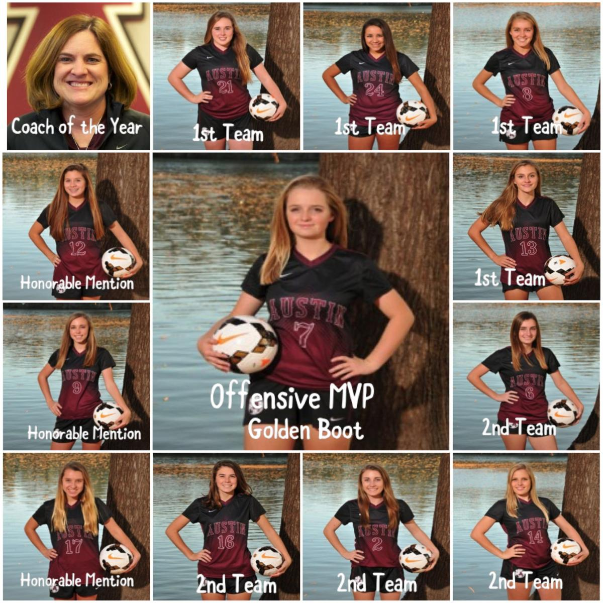 12 Maroons Named to the All District Team