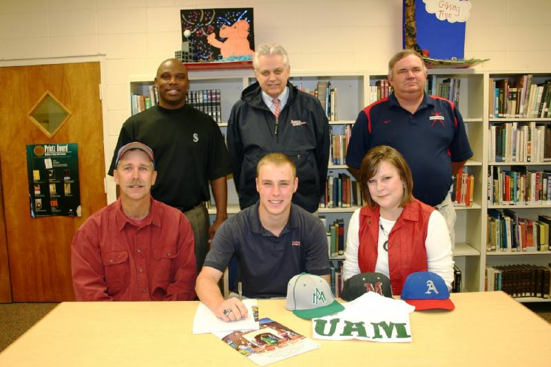 Coda on signing day with U of Arkansas-Monticello