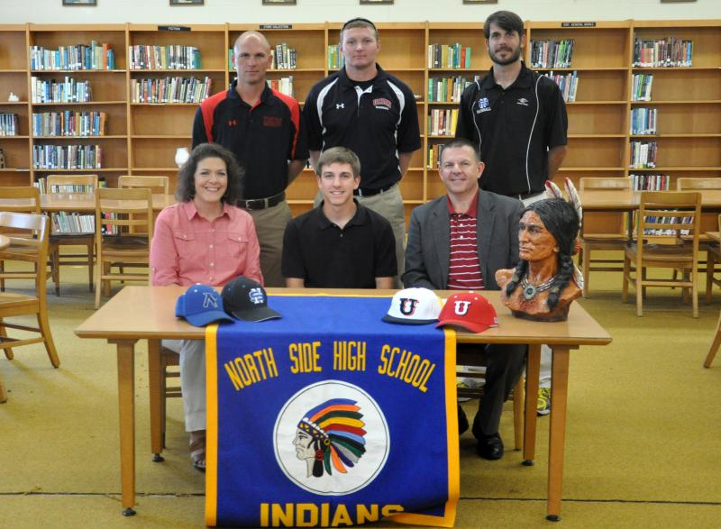 Jacob Alexander on Signing Day with Union U
