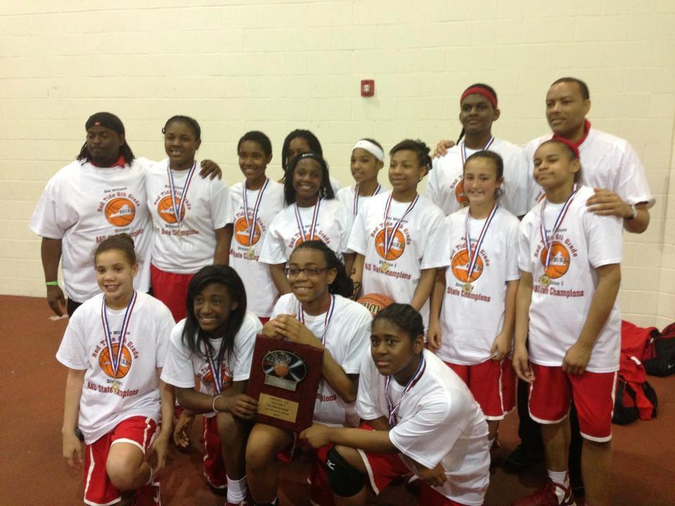 Williams Girls Basketball Boo Williams Red Tide Girls