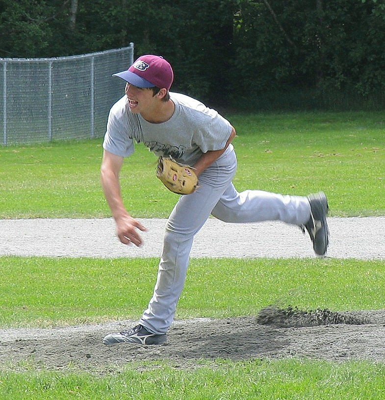 Ash makes his Bantam AAA Mound Debut