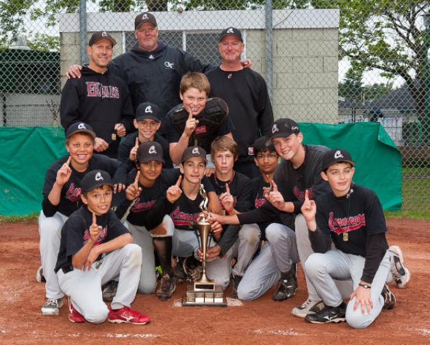 Carnarvon Trappers Capture GVBA Pee Wee Championship