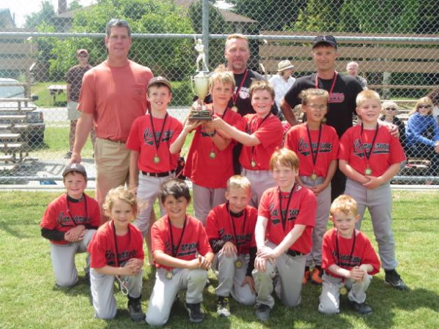 Hawks win Tadpole League Championship!