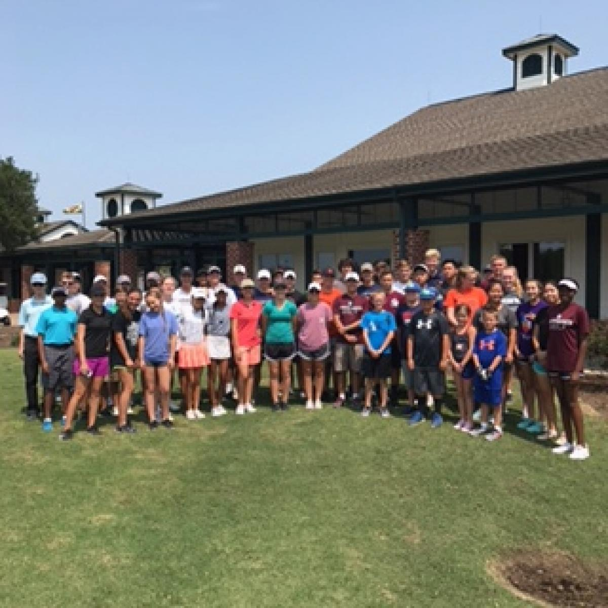 Clean up day at Meadowbrook Farms Golf Club