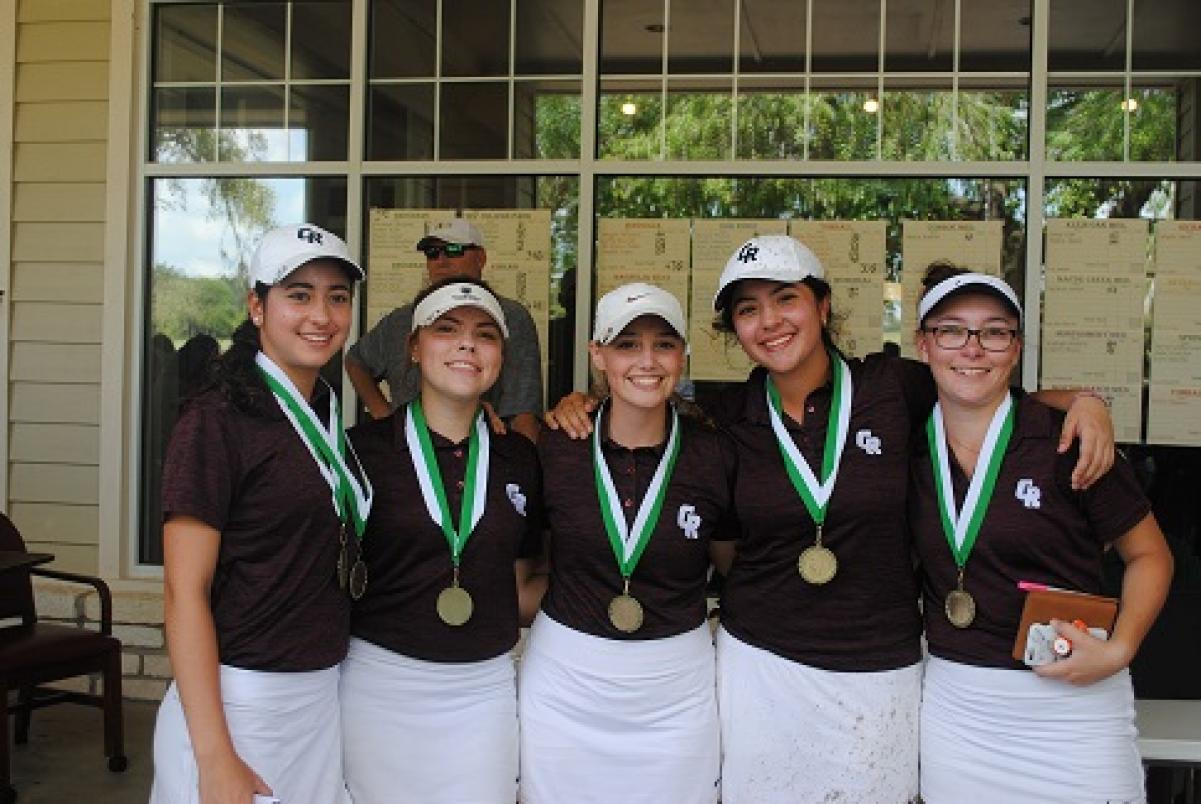 Girls win Bluebell Open at Brenham CC by 23 strokes!