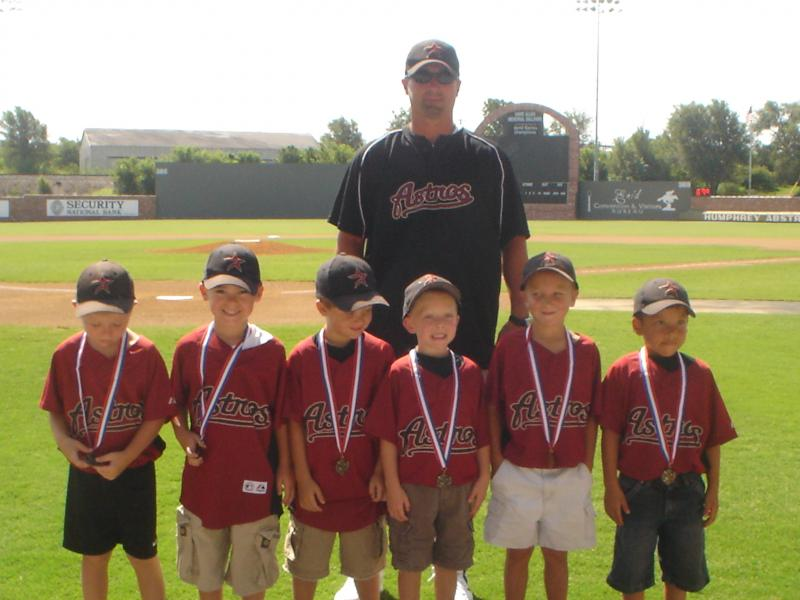 2008 6u EJRT League 3RD place as a 5 year old team