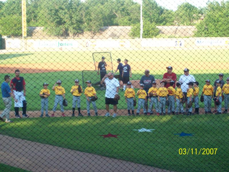 2010 Astros at Homerun Contest for JUCO World Series.