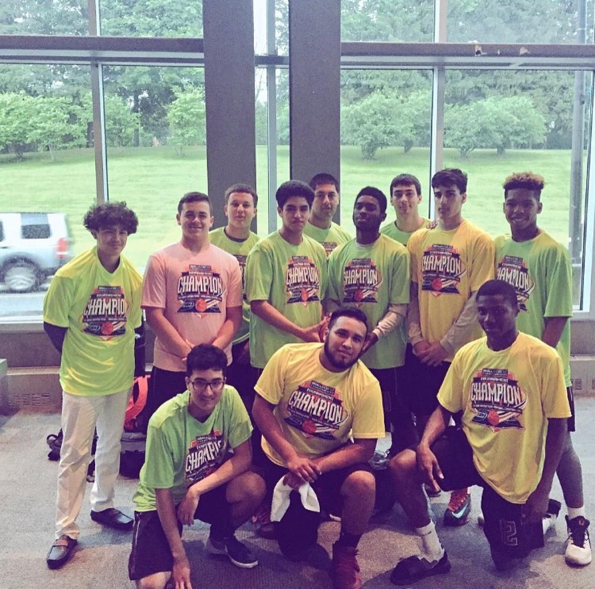 2016 BBall Shootout Champions at Ramapo College