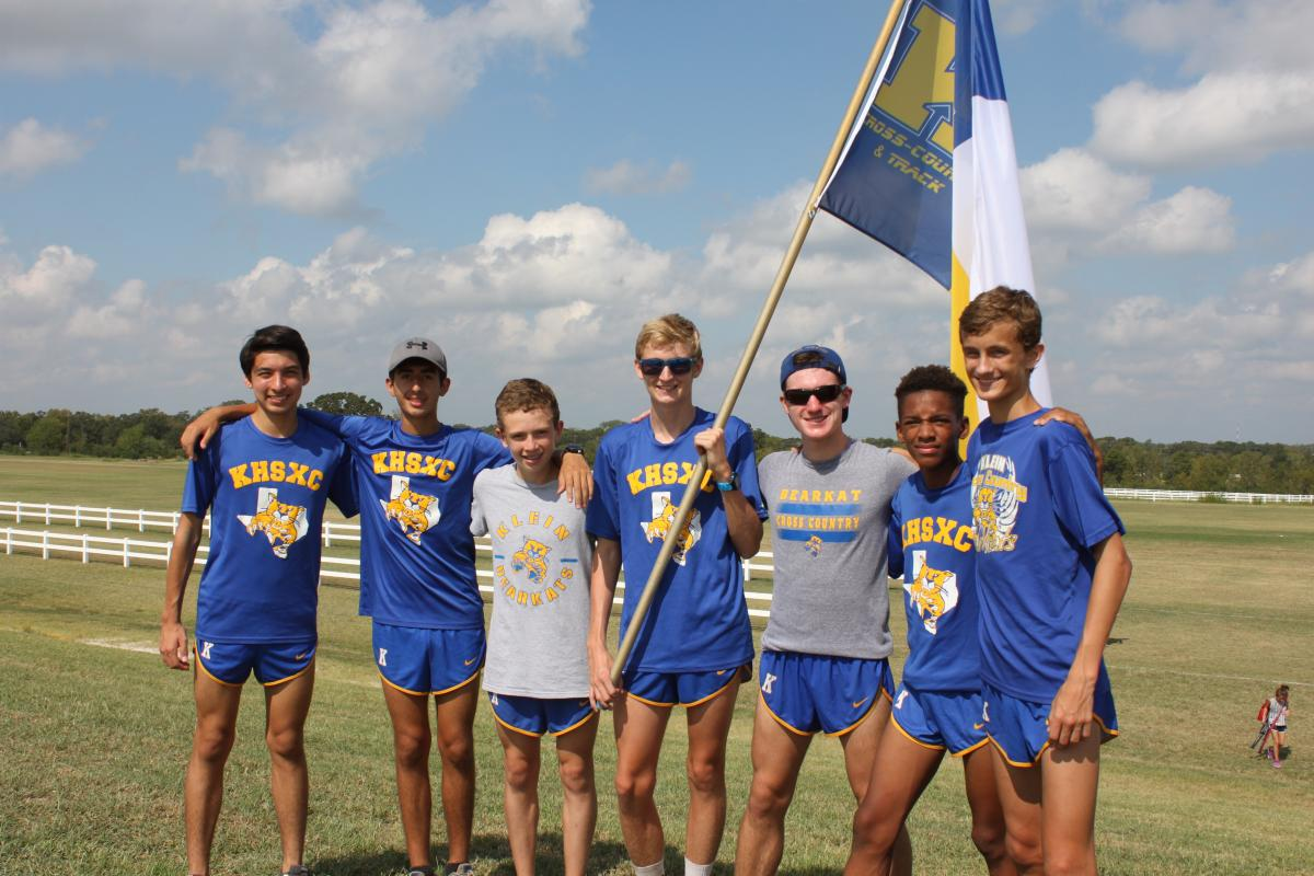 Klein Boys Varsity Cross Country runs to 1st place team finish at Texas A&M High School Invitational!