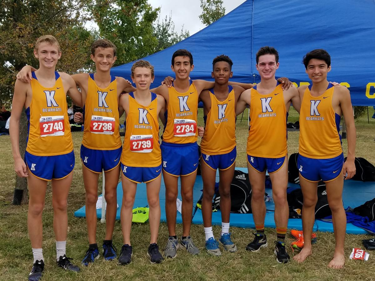 KHS Varsity Boys 7th in the State