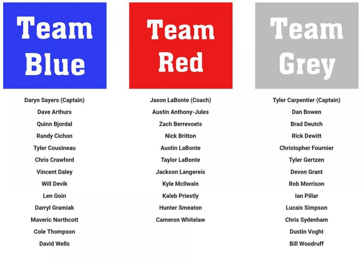 New Team Rosters