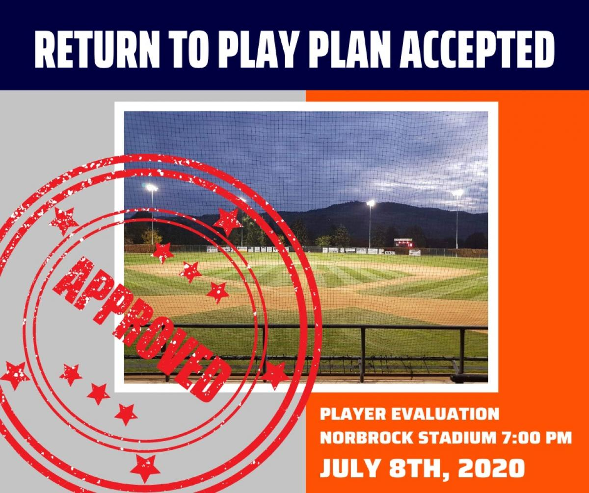 COVID-19 Return to play plan