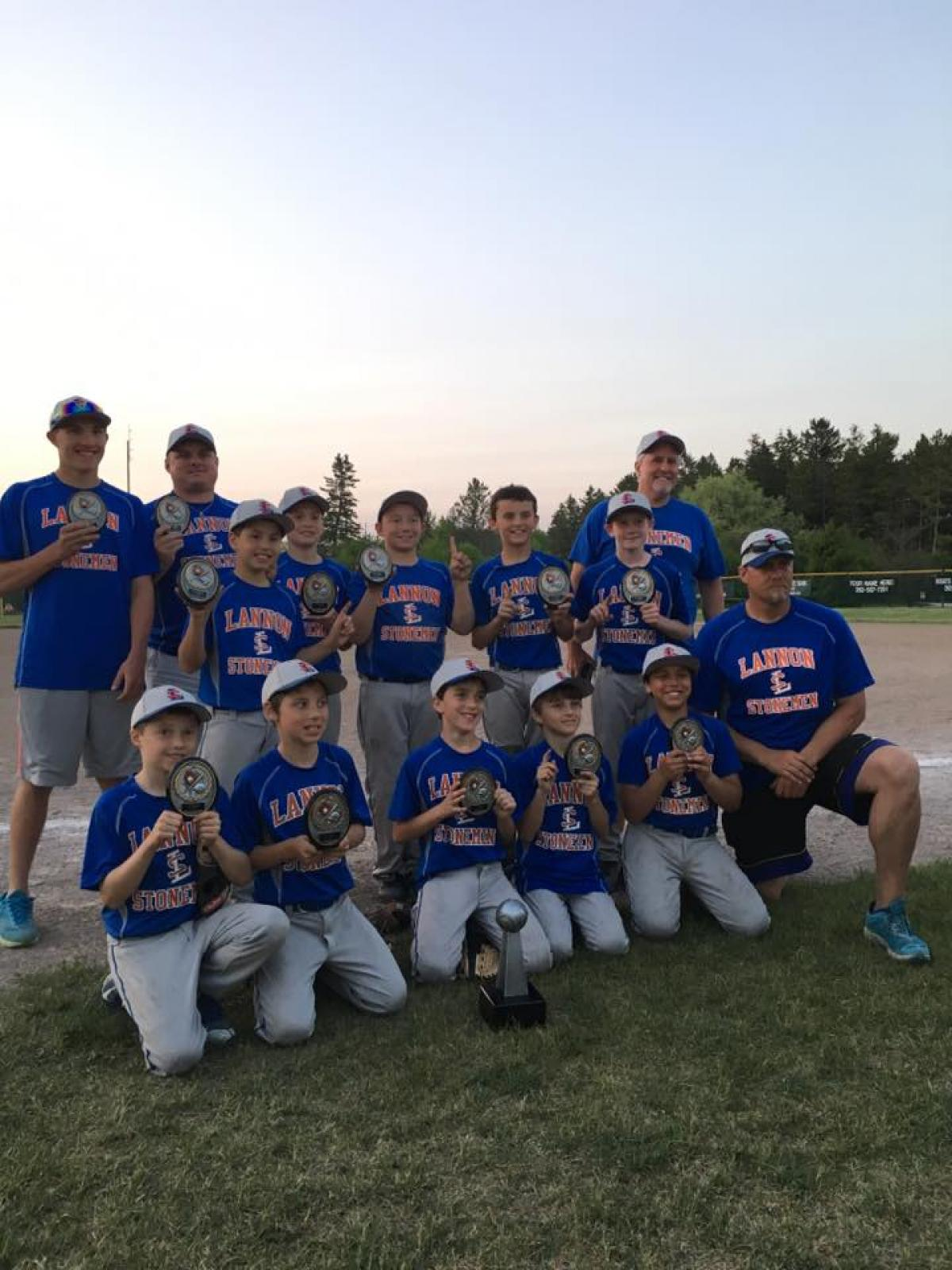 Lannon Stonemen U10 Team Wins Tournament!