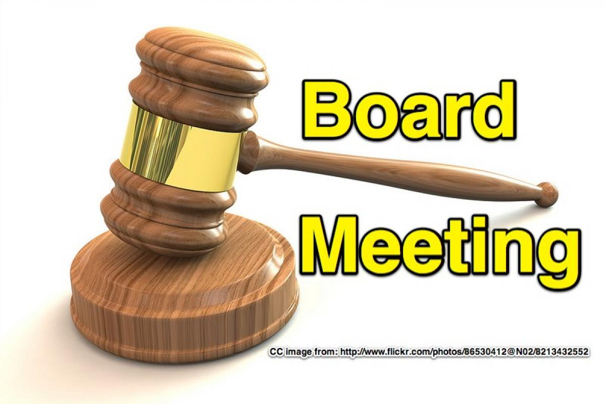 May Board Meeting