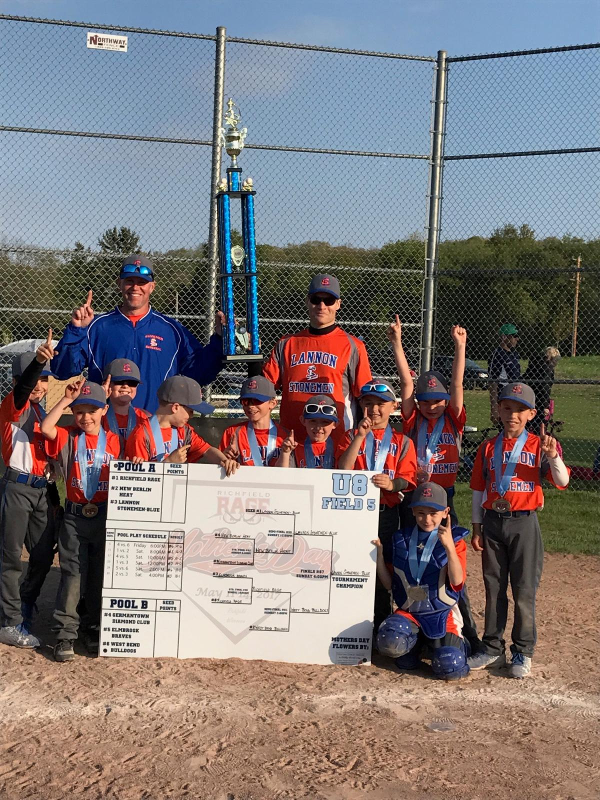 U8 Team Wins Richfield Tournament