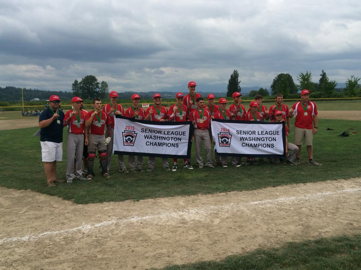 Lewis River Wins Back to Back Seniors 16U State Titles