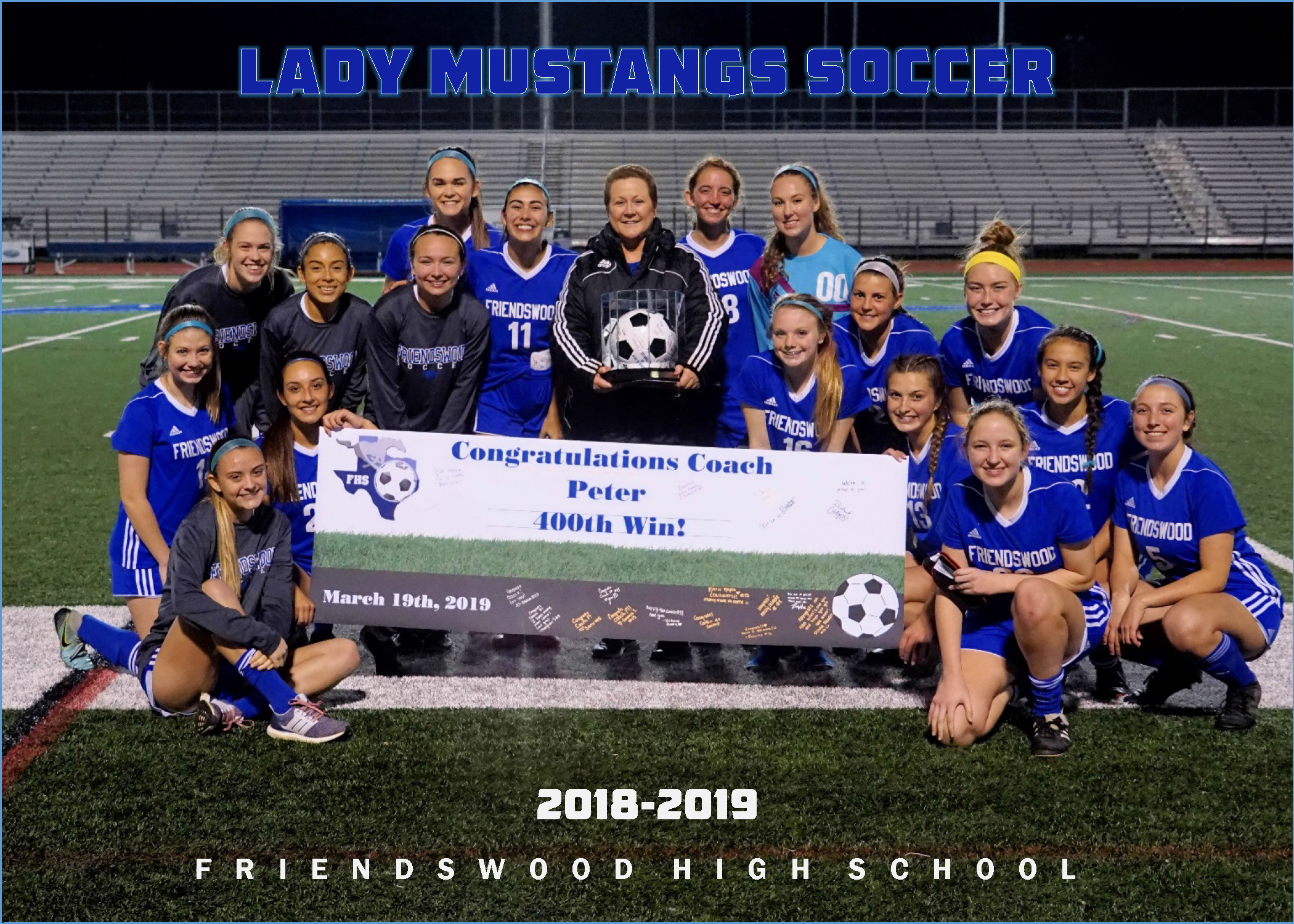 Friendswood Lady Mustangs Soccer - Home