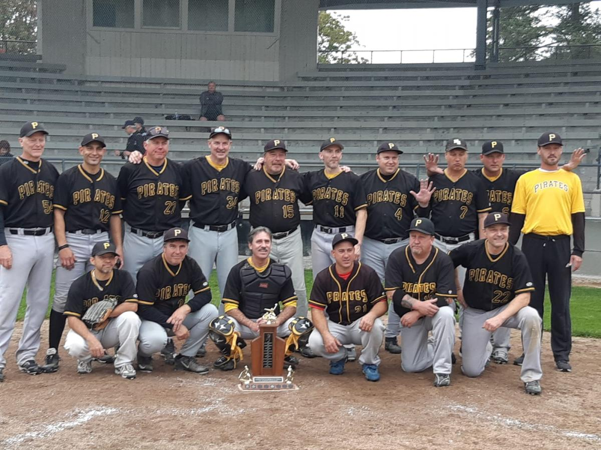 Pirates Win 5th Straight 45+ Division Championship