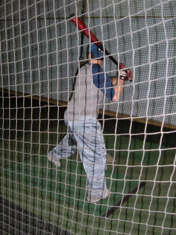 Boner taking some BP.