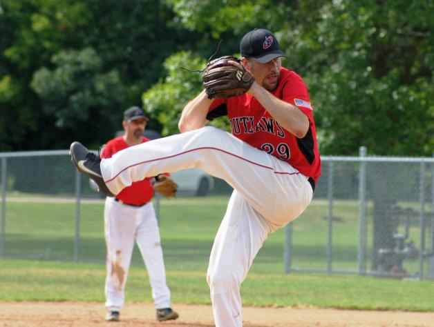Ryan Carlson Pitches Outlaws to a Weekend Split
