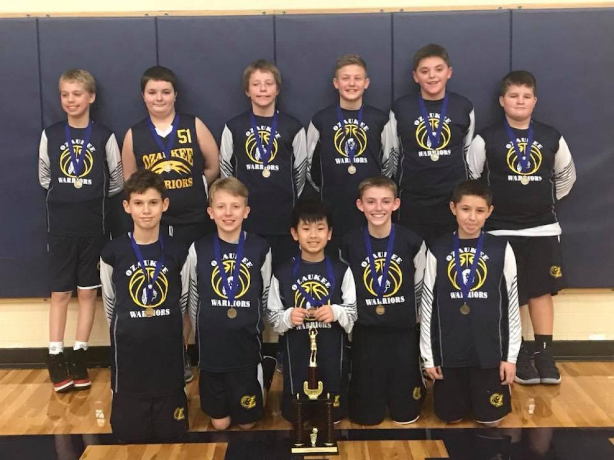 Ozaukee 6th Grade 2018 Shoot-Out Champions!