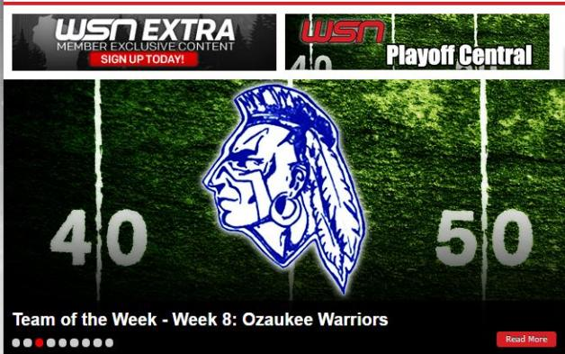OZAUKEE Wins Statewide Team of the Week!