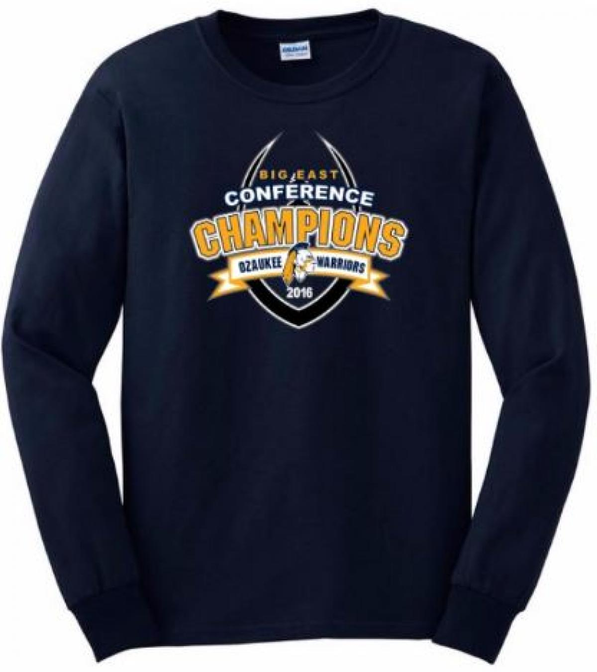 Order Conference Championship Gear by midnight Dec 1st