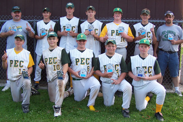 After finishing 1st in the Stateline Pony League, the Vikings went undefeated in the end-of-season tournament.