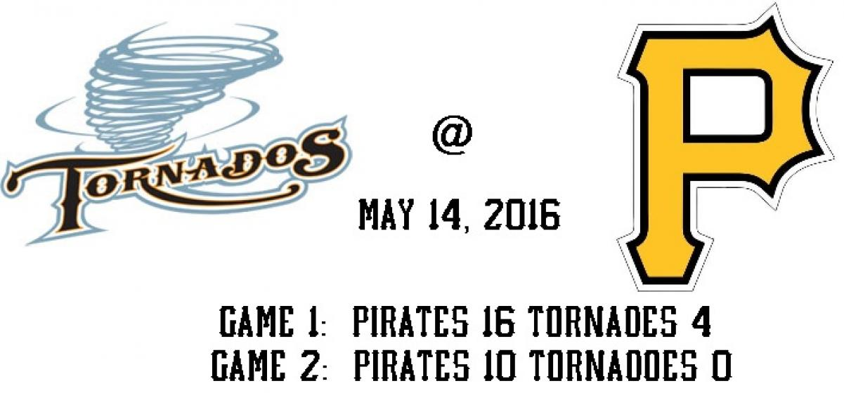 Pirates sweep twin bill against the Tornadoes at Kaplan