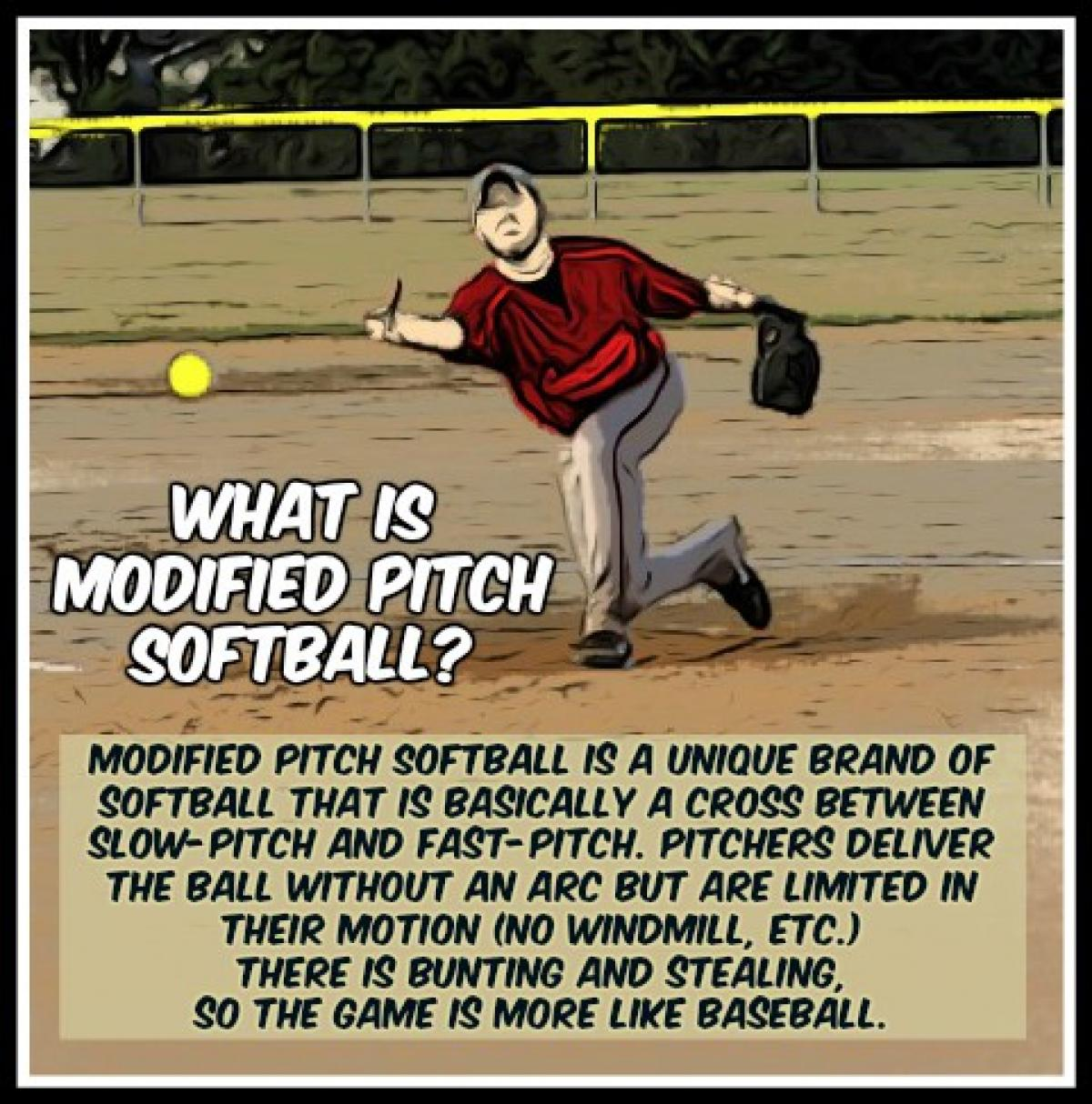 What is Modified Softball?