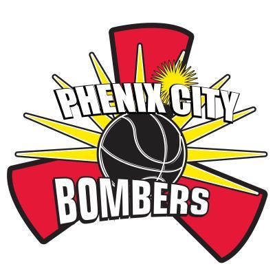 Bombers Basketball Logo Phenix City Bombers Basketball