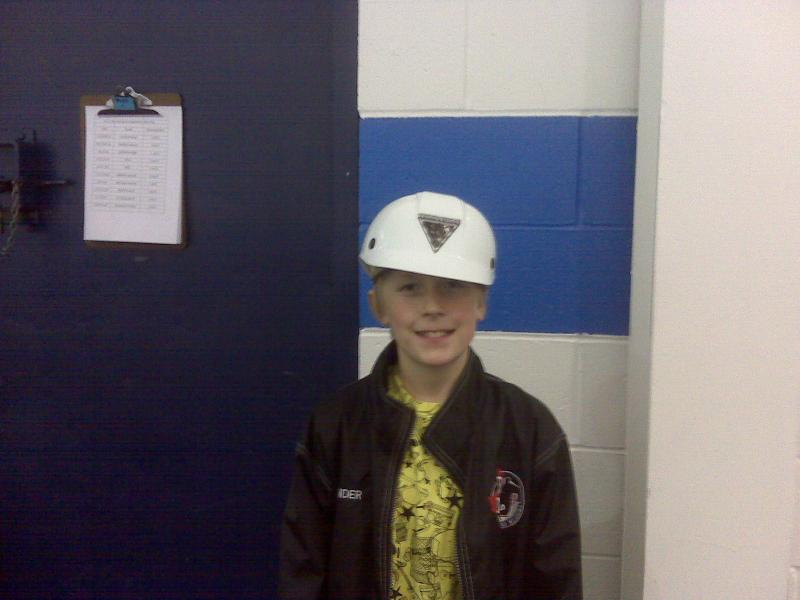 Saturday's Hard Hatt Winner