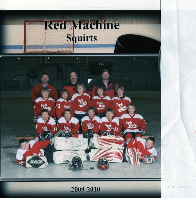 Team Photo 09-10 Rem Machine Squirts