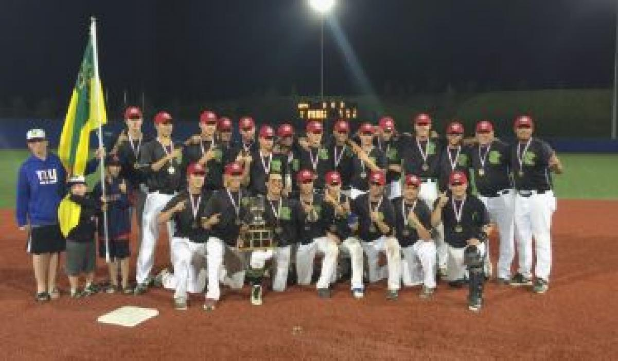 Baseball Canada Cup: Saskatchewan is golden