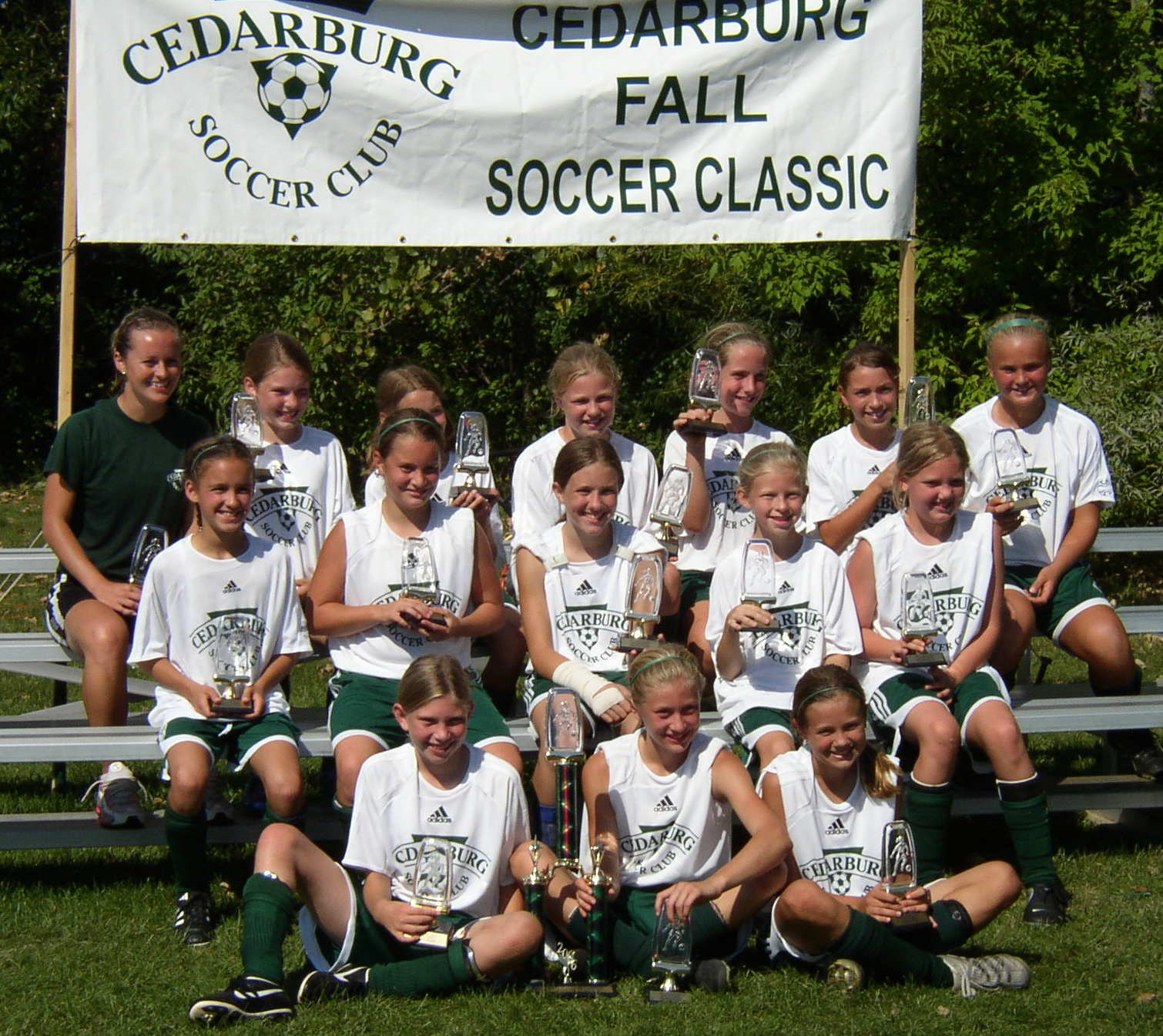 Classic!!! Welcome to the home of the Strikers U12 Girls Green team