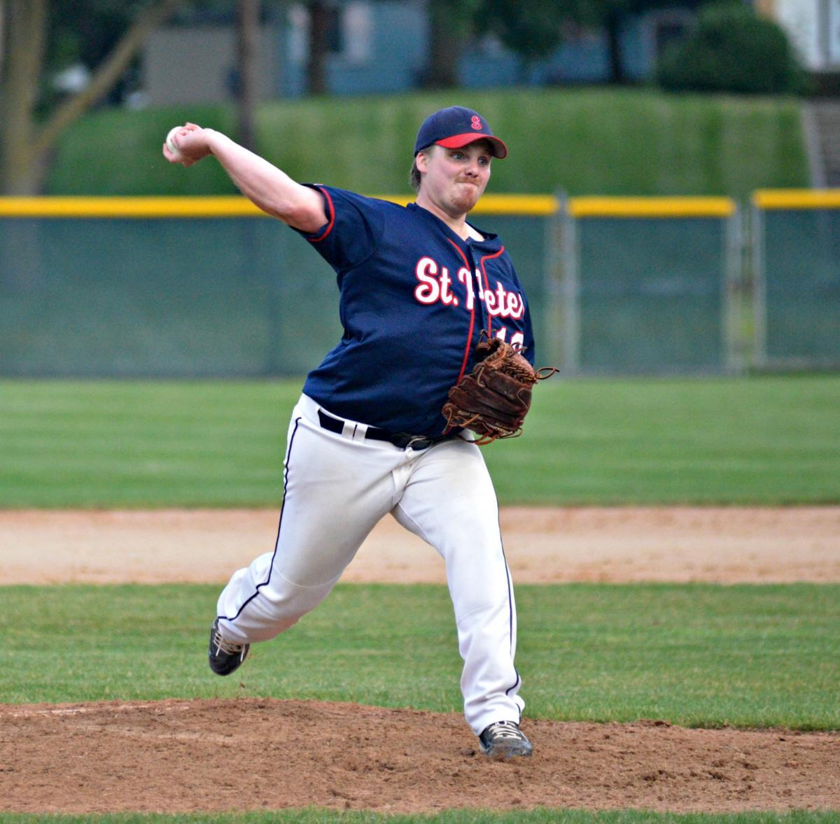 Wenner pitches gem as town team shuts out Belle Plaine