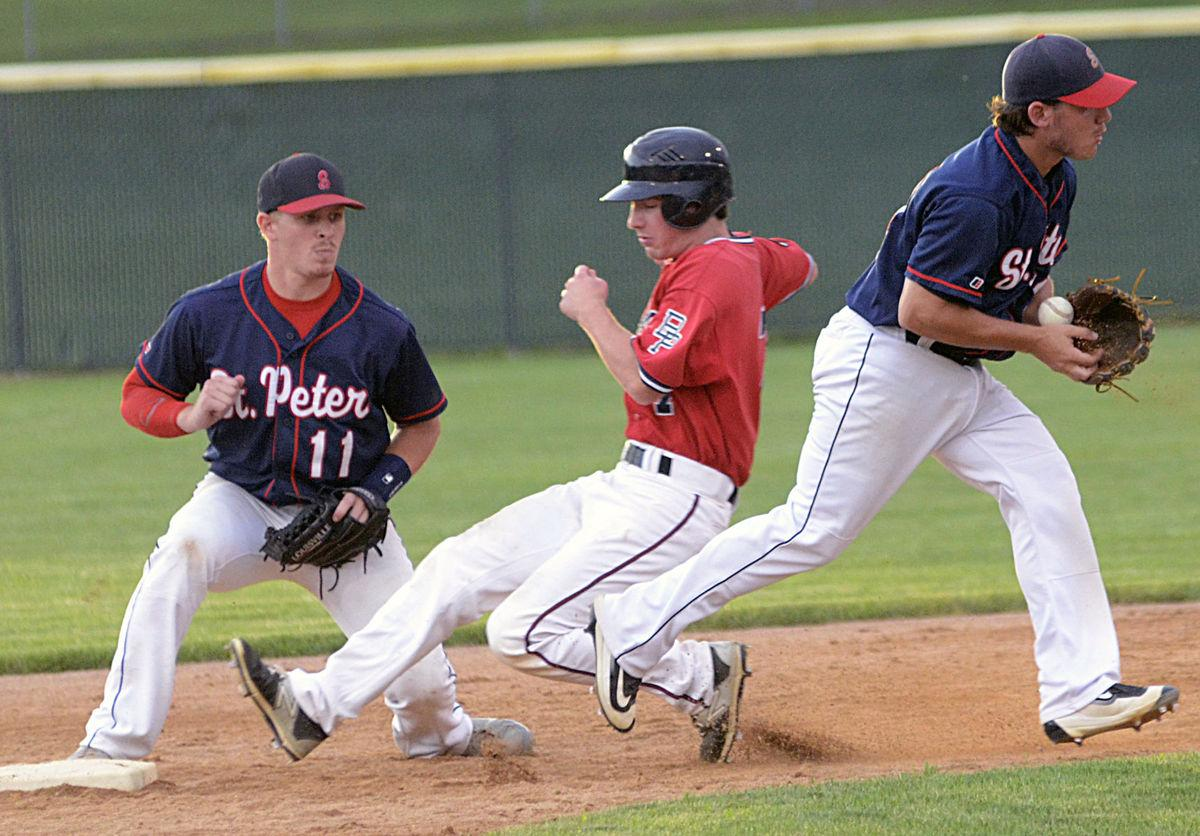 St. Peter edges Belle Plaine 4-3, stays alive in region