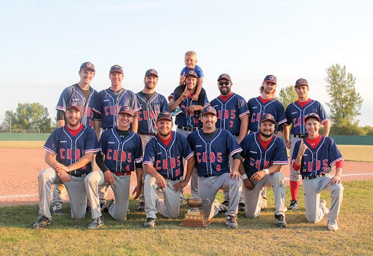 Neepawa Cubs are the 2017 SCBL Champions