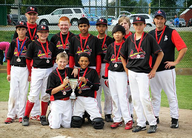 Cards Take 2nd Place at the Burnaby Summer Fun Tournament