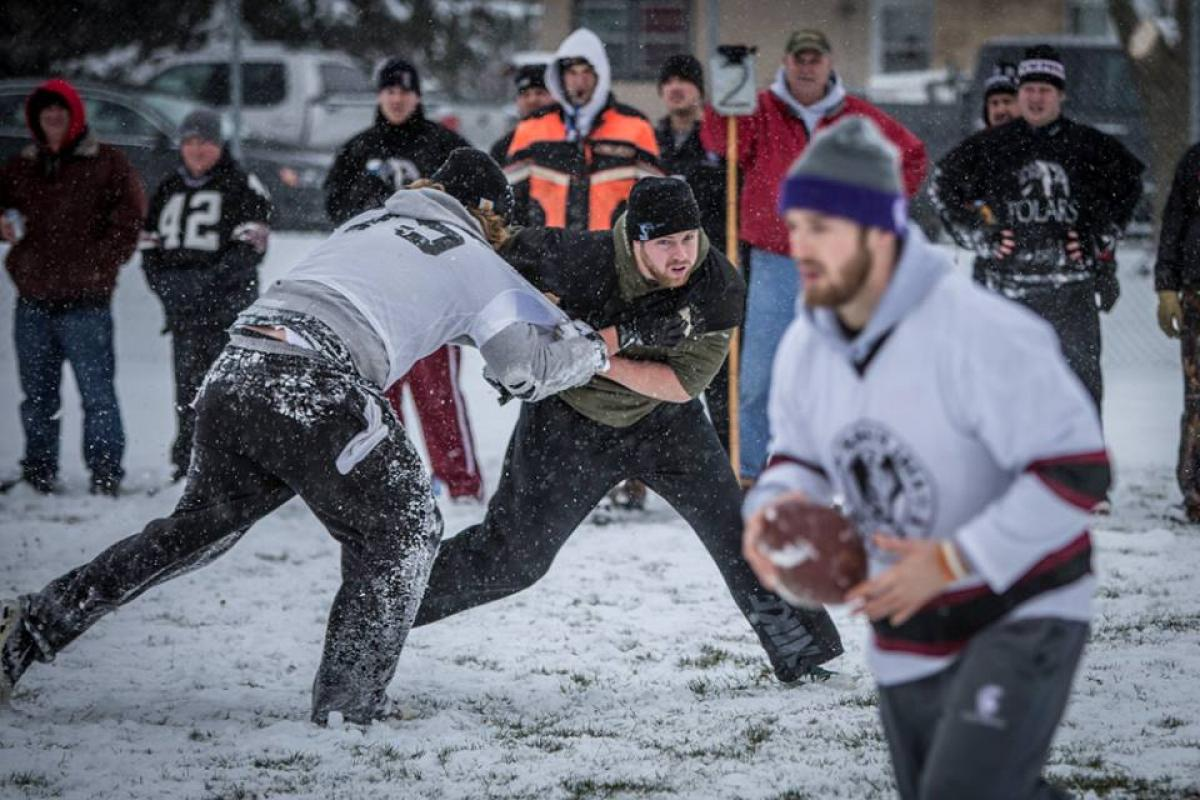 Ptarmigans roll past the Polars in the 57th Sno-Bowl