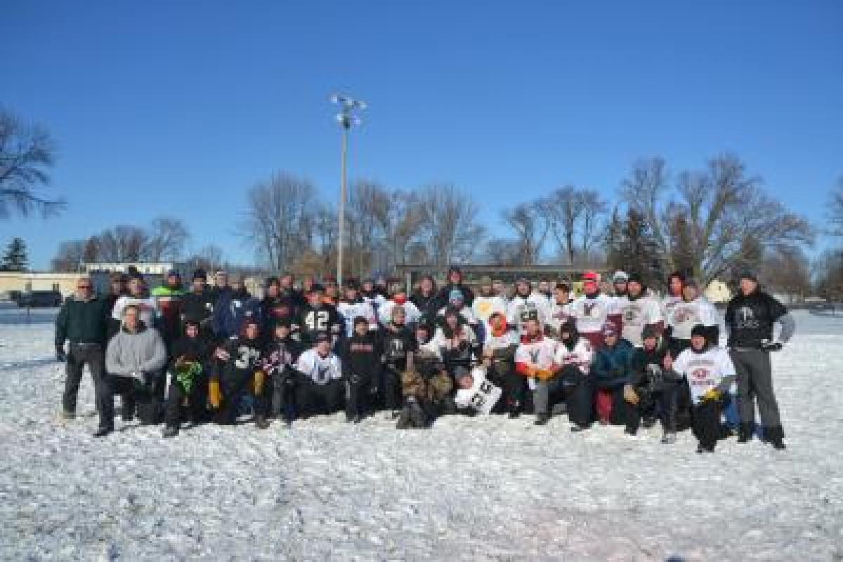 58th Sno-Bowl won by the Polars in -10 degrees