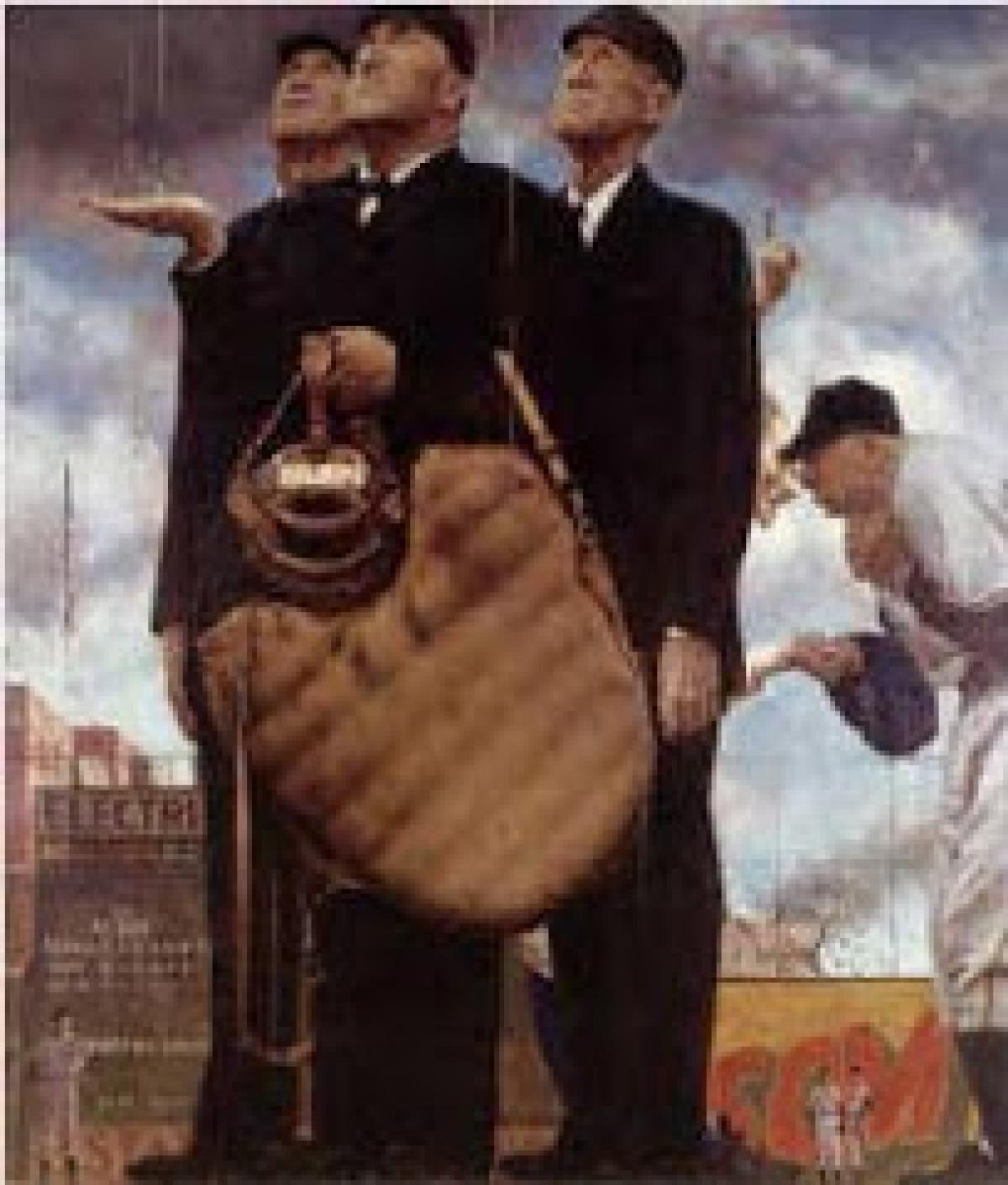 an analysis of the topic of the norman rockwell Norman percevel rockwell was an american author, painter and illustrator his works have a broad popular appeal in the united states for their reflection of .