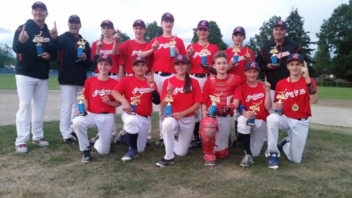 Tri-City Indians Win 2016 Boulanger Bantam AA Tournament