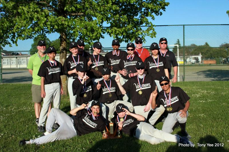 Van Minor Bantam Blue Jays won VMBA Bantam Tournament