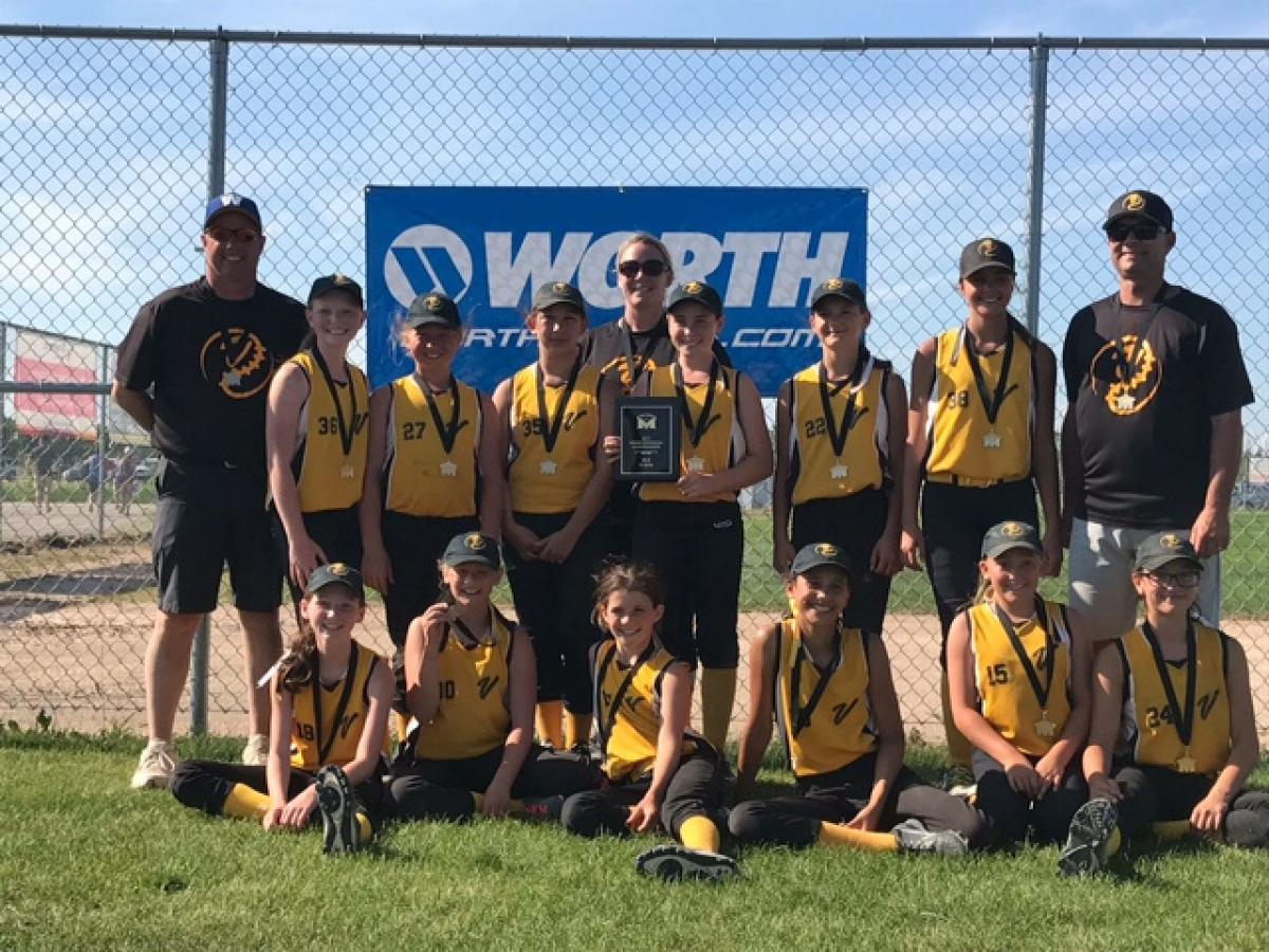 Virden U12 Wins Gold at Provincial Softball Championship