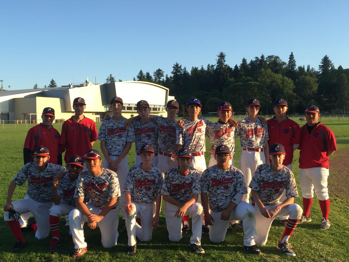 COMPLETE RECAP: West Coast Bows Out in The Semi-Final To The Eventual Returning Provincial Champs Delta Tigers at This Year's BC (Minor) Baseball Provincials