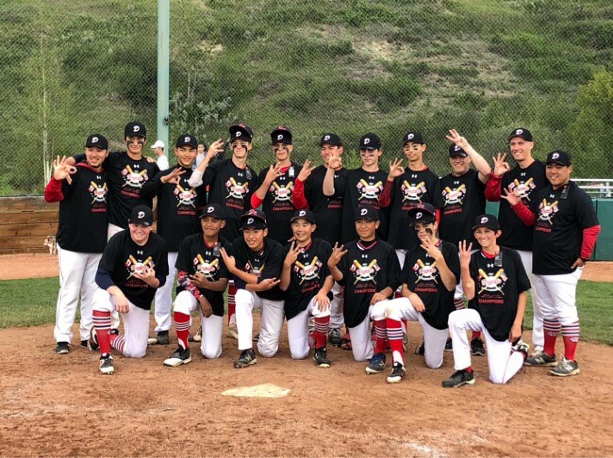 3 FOR 3! Cardinals Take Home Their 3rd Tournament Win in as Many Tries Defeating Host Okotoks Black 4-3 in the Championship Final of the 2018 Okotoks Dawgs Canada Day Classic