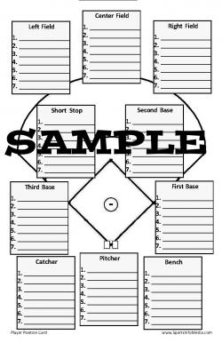 Pocket Player Position Card